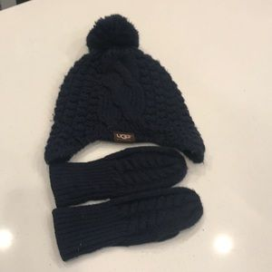 Other - Ugg Australia hat and mittens size 2-4 years
